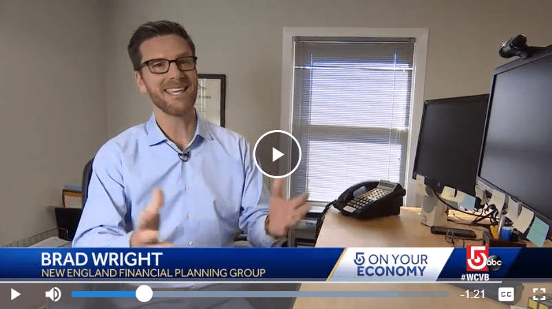Brad Wright discusses the best ways to utilize your tax refund on Channel 5 (ABC/Boston)